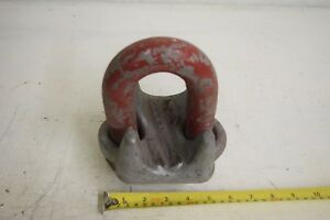 Crosby 2 Galvanized G 450 Cable Saddle Clamp Wire Rope Clip