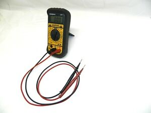 Fieldpiece Lt17 Digital Multimeter Mfd Temperature Microamps