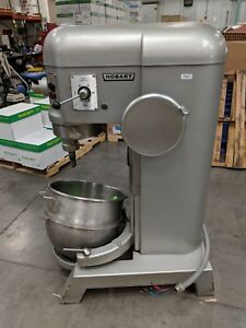 Hobart H600 60qt Quart Mixer 1 5hp 3 Phase With Bowl And Dolly