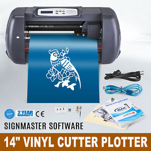 14 Vinyl Cutting Plotter Sign Cutter Outstanding Features Bargain Sale Newest