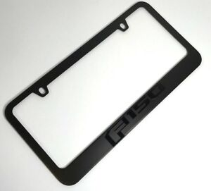 Ford F 150 Premium Matte Black License Plate Frame 2015 2019 Emblem