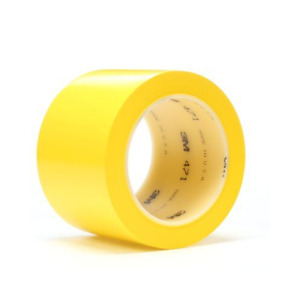 3m Vinyl Tape 471 Yellow 6 Inch X 36 Yard 5 2 Mil Thick 1 roll