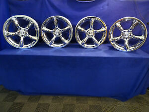 1994 2004 Ford Mustang 19 Chrome Saleen Wheels 5x114 3 30mm Heritage