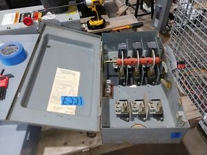 Square D H364 200 Amp 600 Volt Fused Type 1 Disconnect Safety Switch