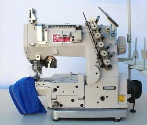 Juki Cs122 Cylinder Bed Coverstitch 2 needle 3 16 Industrial Sewing Machine