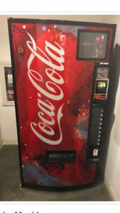 Coca Cola Soda Vending Machine Used Made By Dixie narco
