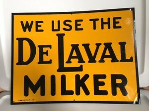 Delaval Milker Sign