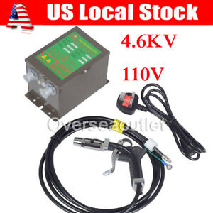 Antistatic Air Gun Ionizing Air Gun Electrostatic High Voltage Generator