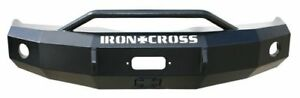 Iron Cross Front Base Bumper With Bull Bar For 03 05 Ram 2500 3500