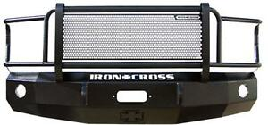 Iron Cross Front Bumper Full Guard For 92 07 Ford Van E 150 250 350
