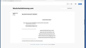 Blockchain Domain Name