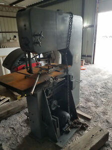 Doall Vertical Band Saw 1611 l With Blade Welder