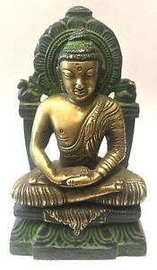 Lovely Vintage Bronze Figure Of A God Buddah Chinese Japanese Inidan Buddhist