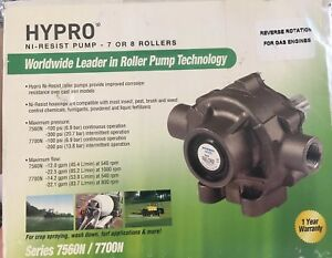 Hypro 8 Roller Ni resist Sprayer Pump 7560n Reverse Rotation For Gas Engines New