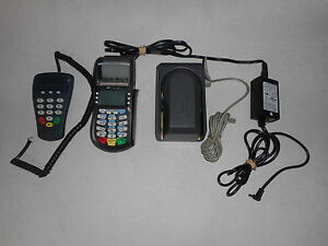 Hypercom Optimum T4210 Credit Card Terminal magtek And Hypercom Pinpad P1300