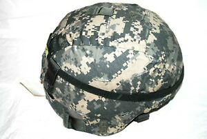 New Genuine USGI Ach Mich Combat HEL MET With Acu Cover Large $325.00