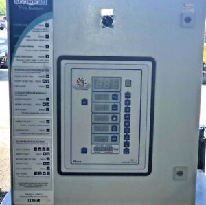 Accudraft titan spray booth control panels Under 100 Hrs Used