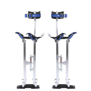 Silver Professional 24 40 Drywall Stilts Heavy Duty Adjustable Painting Tools