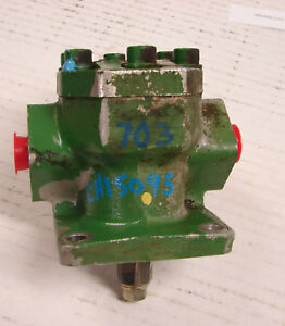 Ch15095 Am880754 John Deere 650 Compact Tractor Hydraulic Pump Oem Used