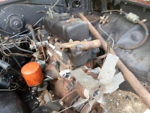Mg Mgb Engine Block Cylinder Head 18v Was Told Rebuilt At Least Good Used One