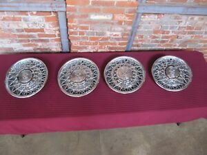 Cadillac Deville Fleetwood Brougham Wire Wheel Hubcaps Covers 1976 1984