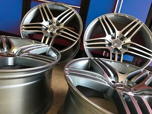 19 Inch Mercedes Gunmetal Edt Gl63 Rims Wheels Set4 New Fits Gl450 Gl550 Gl