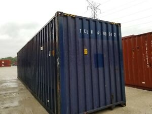 Detroit Mi 40 Shipping Container 40ft Storage Container Sale