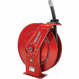 Retractable Fuel Delivery Hose Reel 3 4 X 25 Hose 250psi Lot Of 1