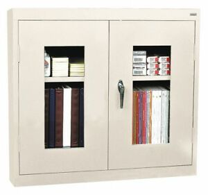 Sandusky Wall Mount Storage Cabinet Powder Coated 22 Gauge Steel Wa1v301226 07