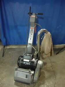 Clarke Ez 8 8 Electric Refinishing Floor Drum Sander American Sanders 385