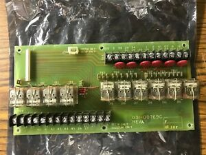 York Chiller P 031 00769c Control Relay Board