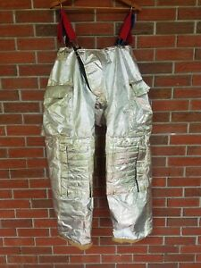 Morning Pride Md Bpr7601 Proximity Pants Nomex Turnout Gear 34x32 Excellent