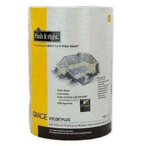 Grace Vycor Plus 18 X 75 Self adhered Flashing Tape Pallet Of 50 Rolls