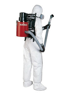 Nikro Bp00288 Back pak Hepa Vacuum W 4 Piece Tool Kit 220v
