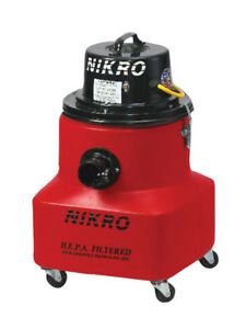 Nikro Pd10088 10 Gallon Hepa Vacuum With 5 Piece Tool Kit 220v