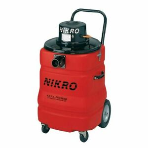 Nikro Pd15110 15 Gallon Hepa Vacuum 220v 50 60 Hz