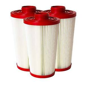 Pulse bac Replacement Hepa Certified Filters 1000 2000 Series 3 X 4 Sets