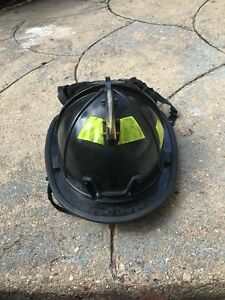 Morning Pride Firefighter Fire Helmet Black Dom 2010
