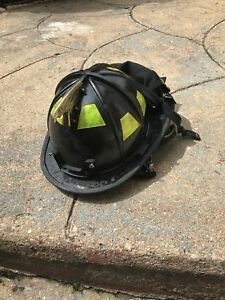 Morning Pride Firefighter Fire Helmet Black Dom 2013