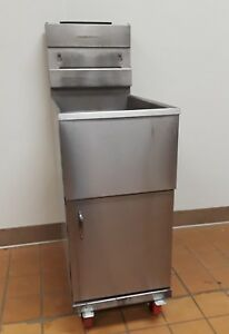 Pitco 35 Lb Natural Gas Deep Fryer 35snn Refurbished