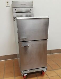 Pitco 42 Lb Natural Gas Deep Fryer 45c s Refurbished