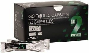 Dental Gc Fuji Ii Lc Rmgic Light Cure Polishable Restorative 50 Caps