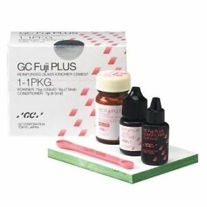 Dental Gc Fuji Plus Resin Modified Cement 1 1 Pack Conditioner