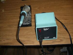 Weller Wtcpt Soldering Station Pu120t Power Unit Tc201t Soldering Iron
