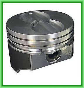 Gm Sb Chevy 350 Chevy Flat Top Hypereutetic Pistons With Rings 8 Std Size