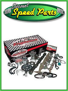 Sb Chevy 350 5 7l Master Rebuild Kit Without Pistons ring Stage1 Camshaft 86 85