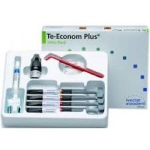 5 X Ivoclar Vivadent Teeconom Plus Dental Resin Composite Kit
