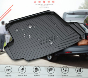 Suitable For Toyota Corolla 2008 2018 Special Waterproof Trunk Mat Tpo
