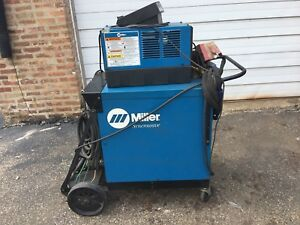 Miller Syncrowave 250 Ac dc Welder Phase 1 W foot Petal Torch