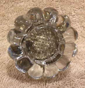 Antique Vintage Glass Door Knob Doorknob 2 1 4